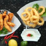 Fried Chicken and Calamari